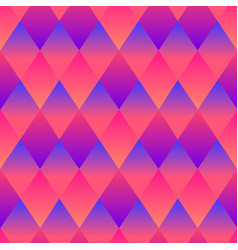 psychedelic rhombuses bright abstract decorative vector image