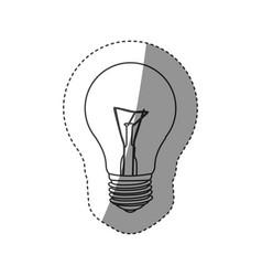 Save bulb icon image vector