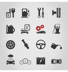 Car icon4 vector image