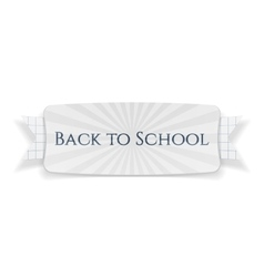 back to school special banner vector image