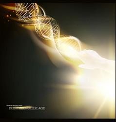 biochemistry infographics design vector image