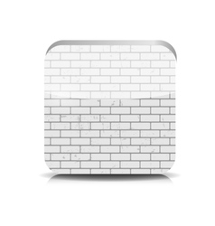Brick Application Button vector image