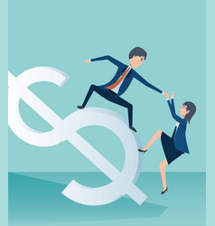 business concept design vector image