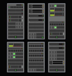 Computer for a crypto server vector