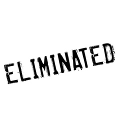 Eliminated rubber stamp vector
