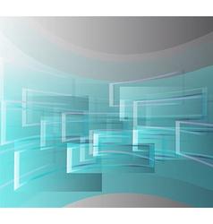 Flying window vector image