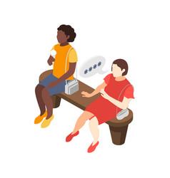 Gossip racial discrimination composition vector