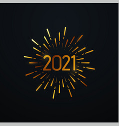 happy 2021 new year vector image