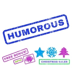 Humorous Rubber Stamp vector