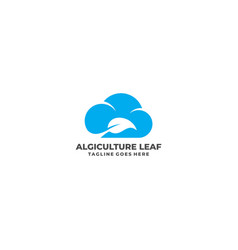 leaf template vector image