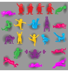 People color background vector