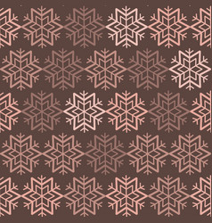 Seamless pattern with snowflakes image vector
