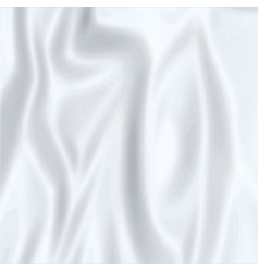 Simple smooth silver silk satin background vector
