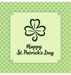 St patrick light vector image