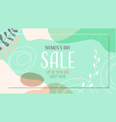 Womens day 8 march holiday celebration vibrant vector
