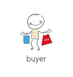 Buyer vector image