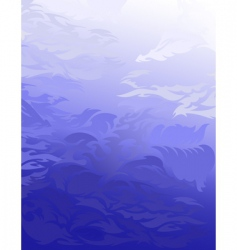 blue abstract smooth soft back vector image vector image