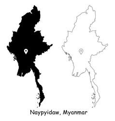 1120 naypyidaw myanmar vector