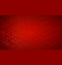abstract background intersecting triangles vector image