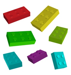 Construct toys vector