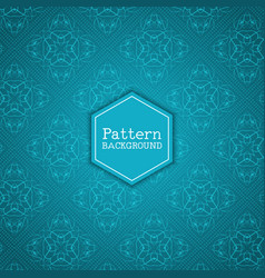 Elegant pattern background vector