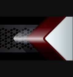 Geometric design of a dark red hue with a vector