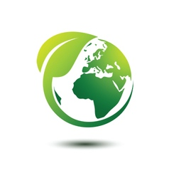 Green earth 3 vector image