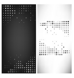 Multiple grey dot abstract tem vector