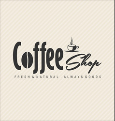 retro vintage coffee design background 0006 vector image