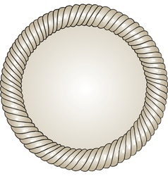 Unique hand-drawn circle frame with place for your vector image
