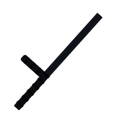 Truncheon icon vector image vector image