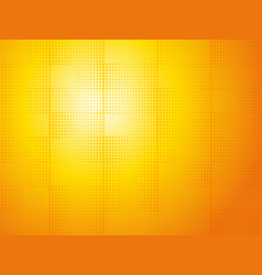abstract orange halftone dotted background vector image