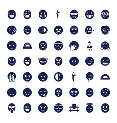 Cheerful icons vector