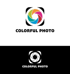 Colorful photo vector