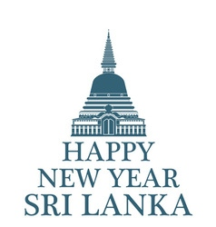 Happy New Year Sri Lanka vector
