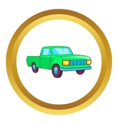 Pickup icon vector