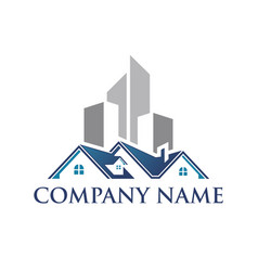 Realty logo vector