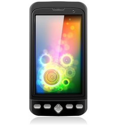 Mobile Cell Smart Phone vector image vector image