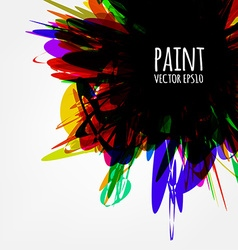 Abstract Paint Splash vector image