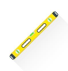 flat construction level icon vector image