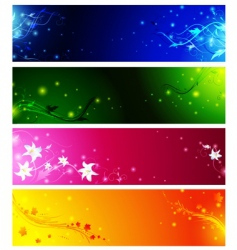banner collection vector image