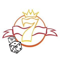 Casino symbol vector image