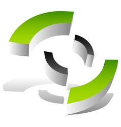 Crosshair target mark style icon logo for vector