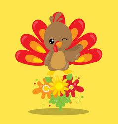 Gobble give thanks gobble 02 vector