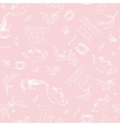 Seamless pattern sketch of items bun-fight vector