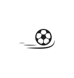 Soccer ball template design vector