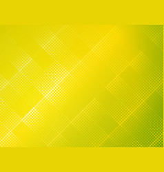 yellow green halftone dotted texture pattern vector image