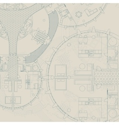 Blueprint Architectural background vector image