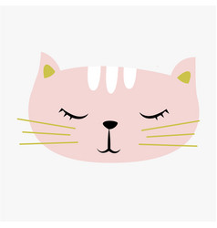 cute cat vector image vector image
