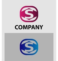 An attractive Letter S logo symbol vector